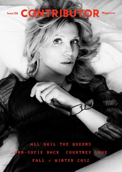 Courtney Love Shares Her Clothing Line for the Cover Story of Contributor Magazine #6