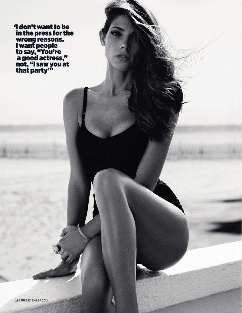 Ashley Greene Stars in GQ UK's December 2012 Cover Shoot by Benny Horne