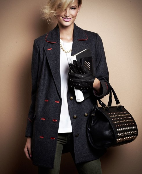 SuiteBlanco Enlists Michaela Kocianova for its F/W 2012 Campaign