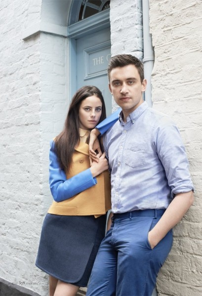 Carven's Guillaume Henry and Actress Kaya Scodelario Pose for Eric Guillemain in Elle US