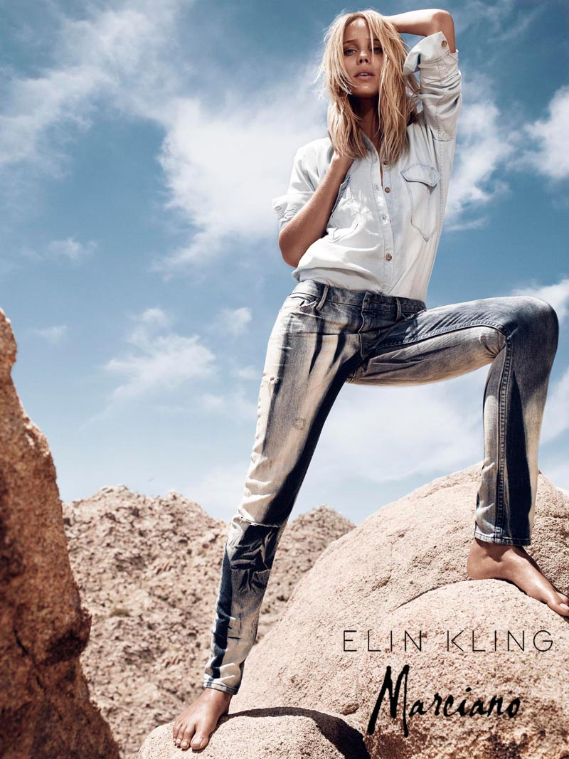 kling1 Hunter & Gatti Shoot the Elin Kling for Marciano Campaign