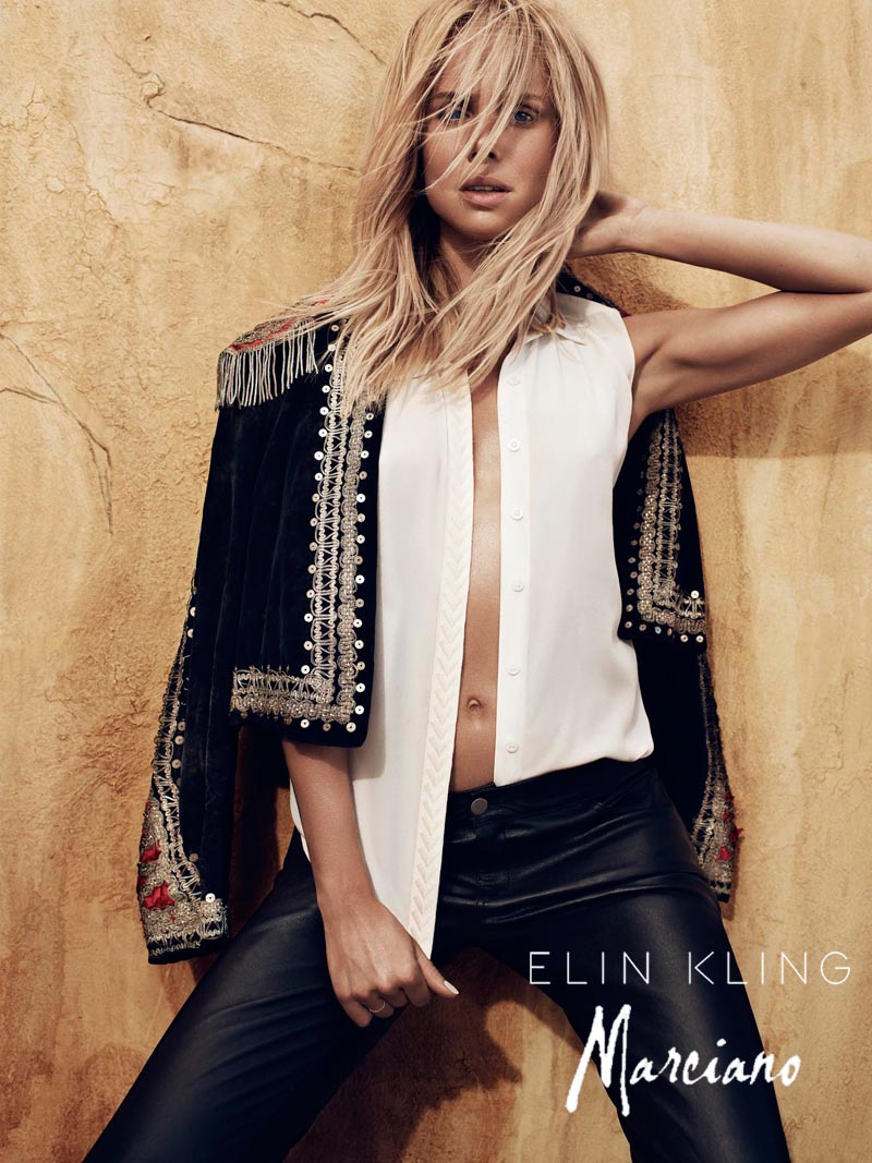 kling4 Hunter & Gatti Shoot the Elin Kling for Marciano Campaign