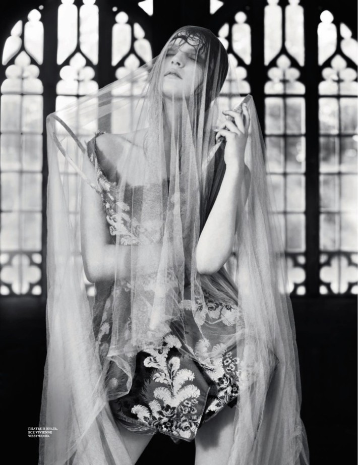 laura7 Laura Kampman Dons Divine Fashion for Interview Russia November 2012 by Ben Toms