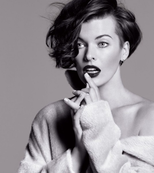 Milla Jovovich Stars in the Marella Fall 2012 Campaign by Inez & Vinoodh
