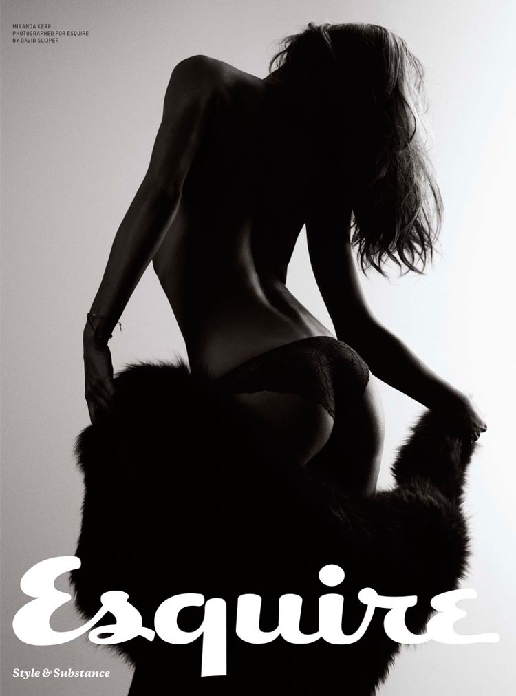 miranda sexy7 Miranda Kerr Sizzles in Lingerie Looks for Esquire UKs December Cover Shoot