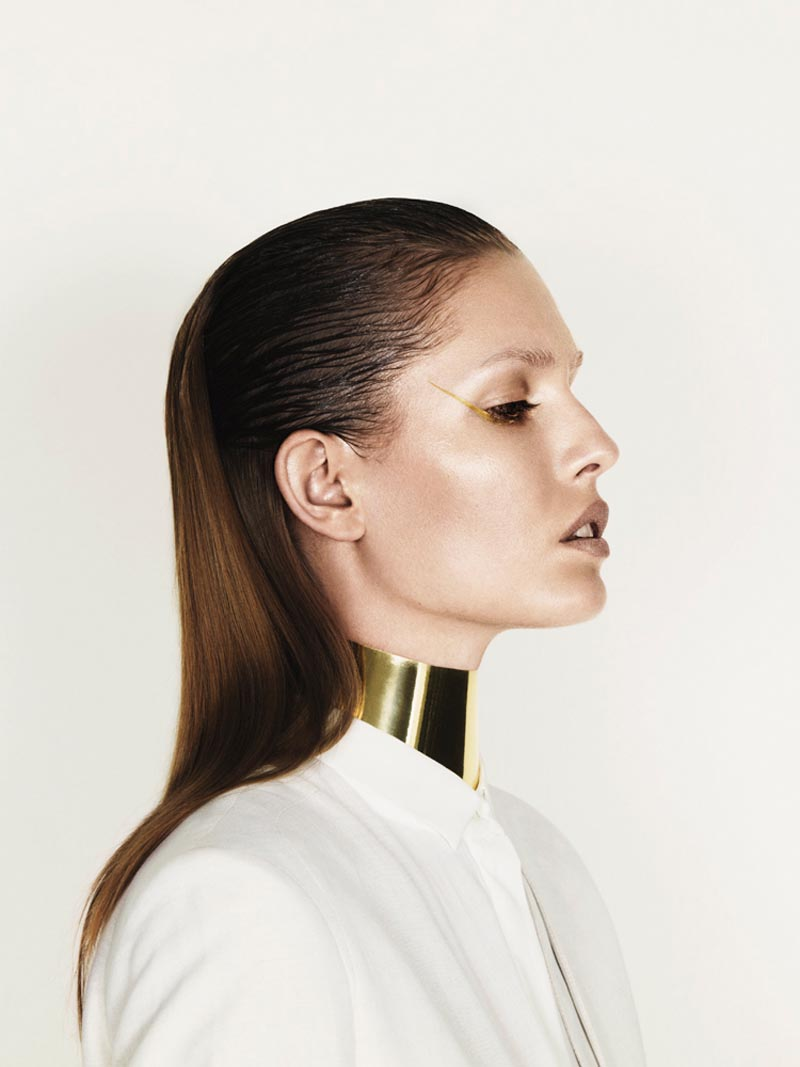 nadja1 Nadja Bender is Sleekly Modern for Designers Remixs Spring 2013 Campaign by Jens Langkjaer