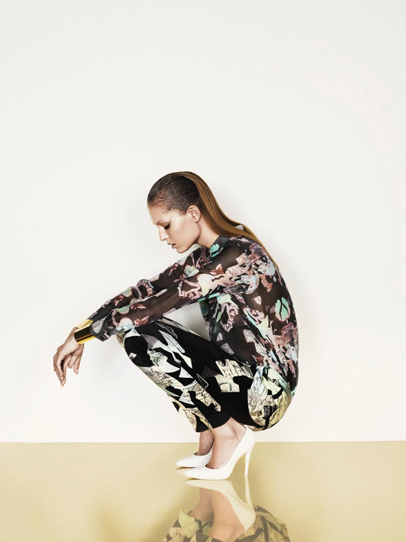 nadja2 Nadja Bender is Sleekly Modern for Designers Remixs Spring 2013 Campaign by Jens Langkjaer