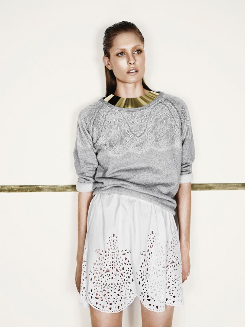nadja4 Nadja Bender is Sleekly Modern for Designers Remixs Spring 2013 Campaign by Jens Langkjaer