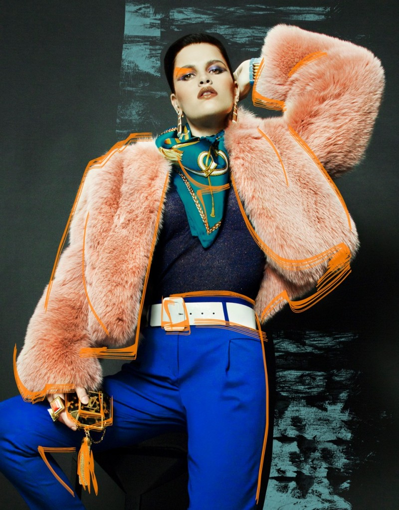 nikolay fur3 Nikolay Biryukov Captures Illustrative Style for Interview Russias November Issue