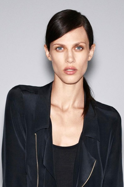 Zara Taps Aymeline Valade for its October 2012 Lookbook