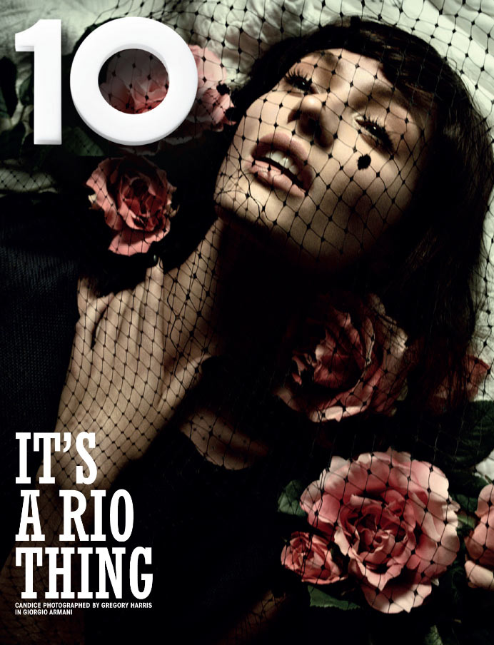 10cover Candice Swanepoel and Crystal Renn Cover 10 Magazines Rio Issue