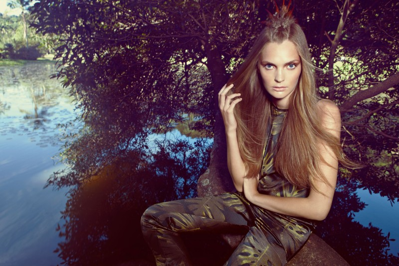Gertrud Hegelund Stars in A. Brand's Spring 2013 Campaign