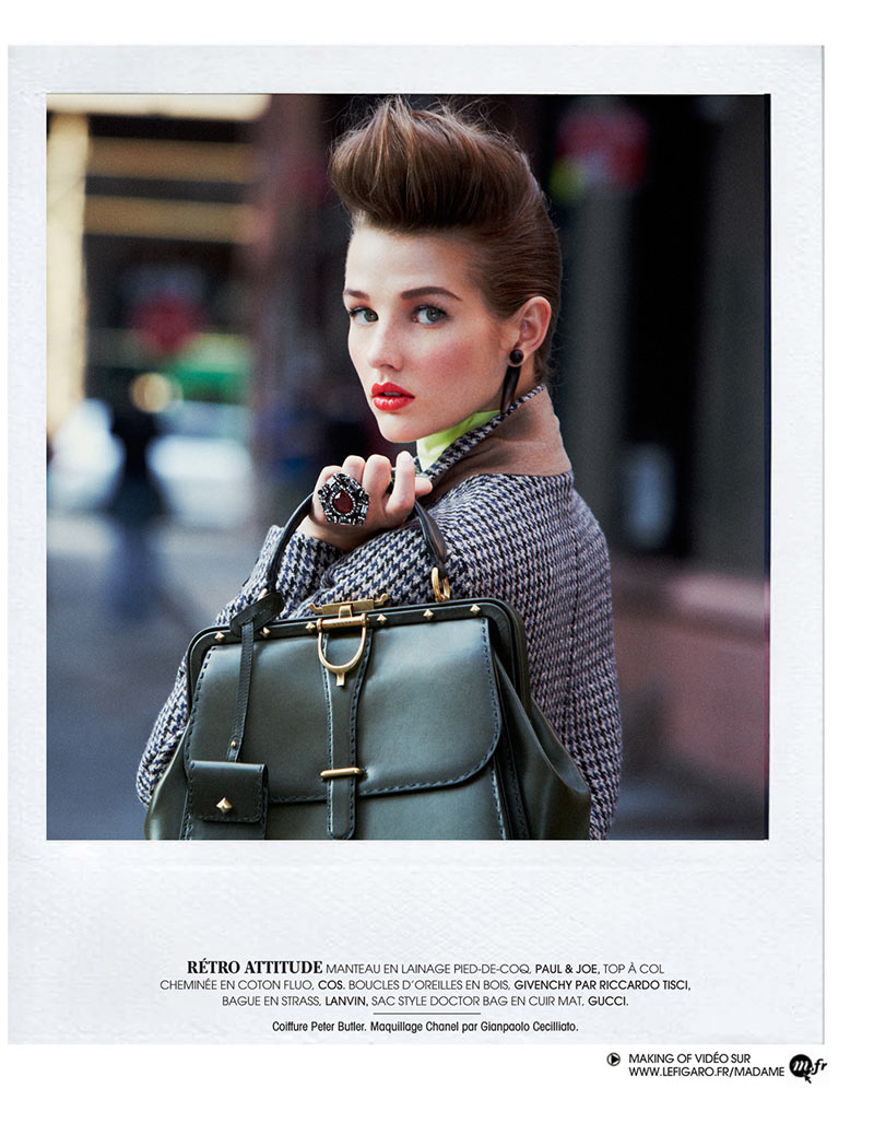 AlexandreNY10 Alexandre Weinberger Captures a New York Story for Madame Figaro November 2012