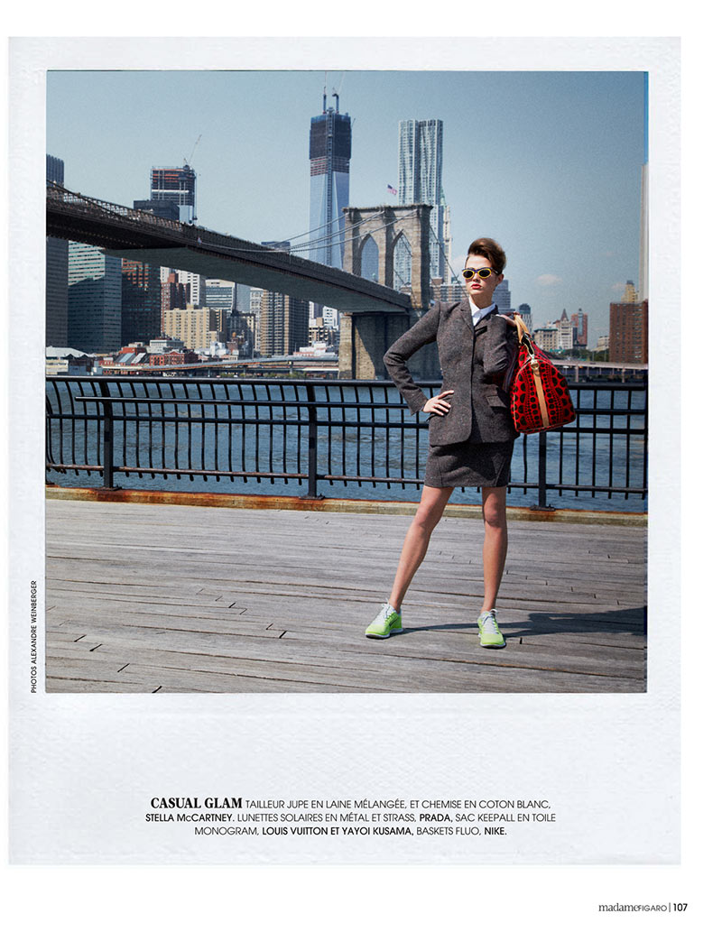 AlexandreNY2 Alexandre Weinberger Captures a New York Story for Madame Figaro November 2012