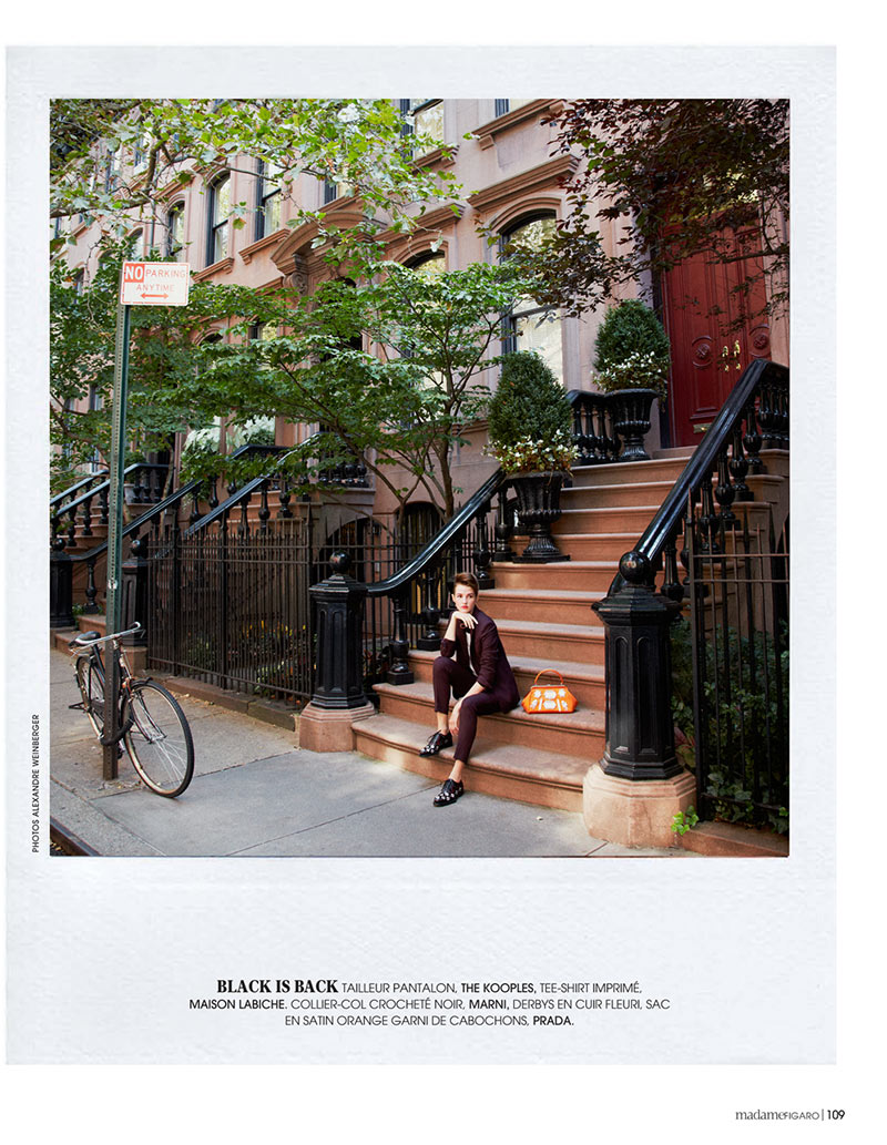 AlexandreNY4 Alexandre Weinberger Captures a New York Story for Madame Figaro November 2012