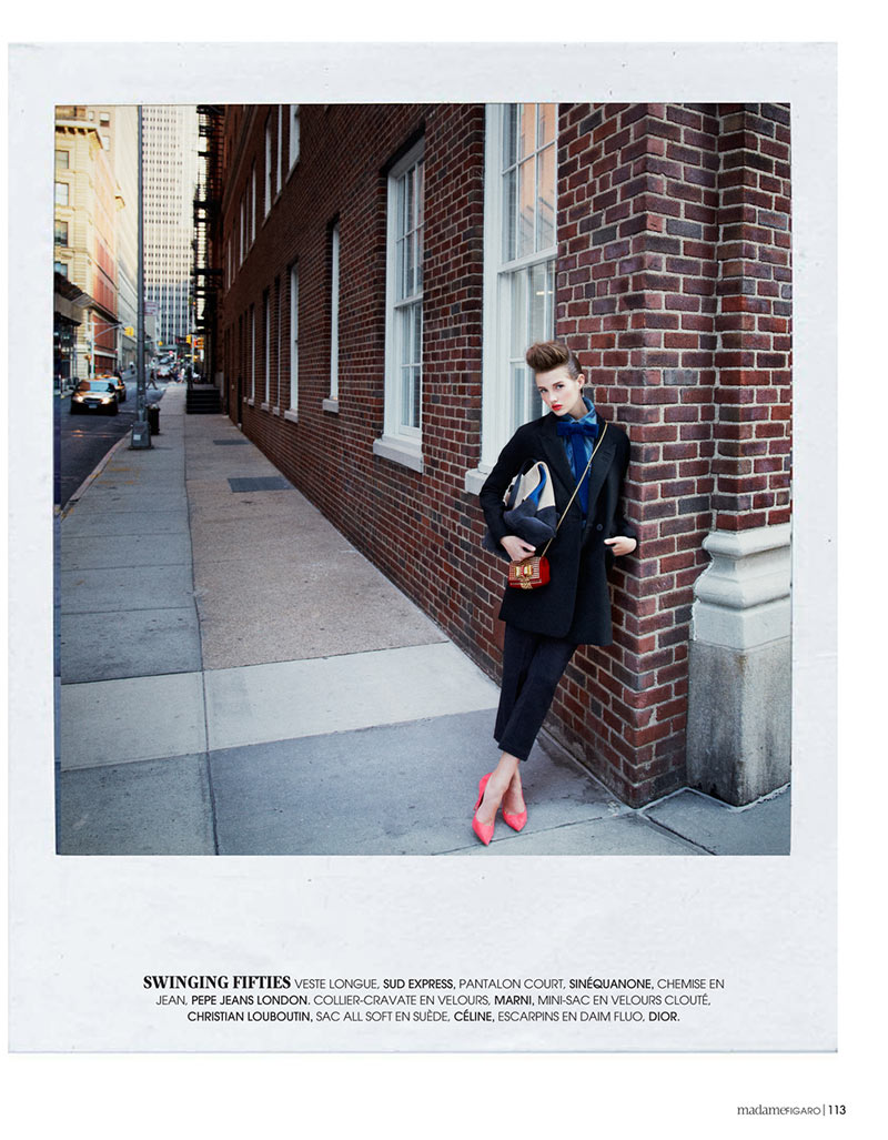 AlexandreNY8 Alexandre Weinberger Captures a New York Story for Madame Figaro November 2012