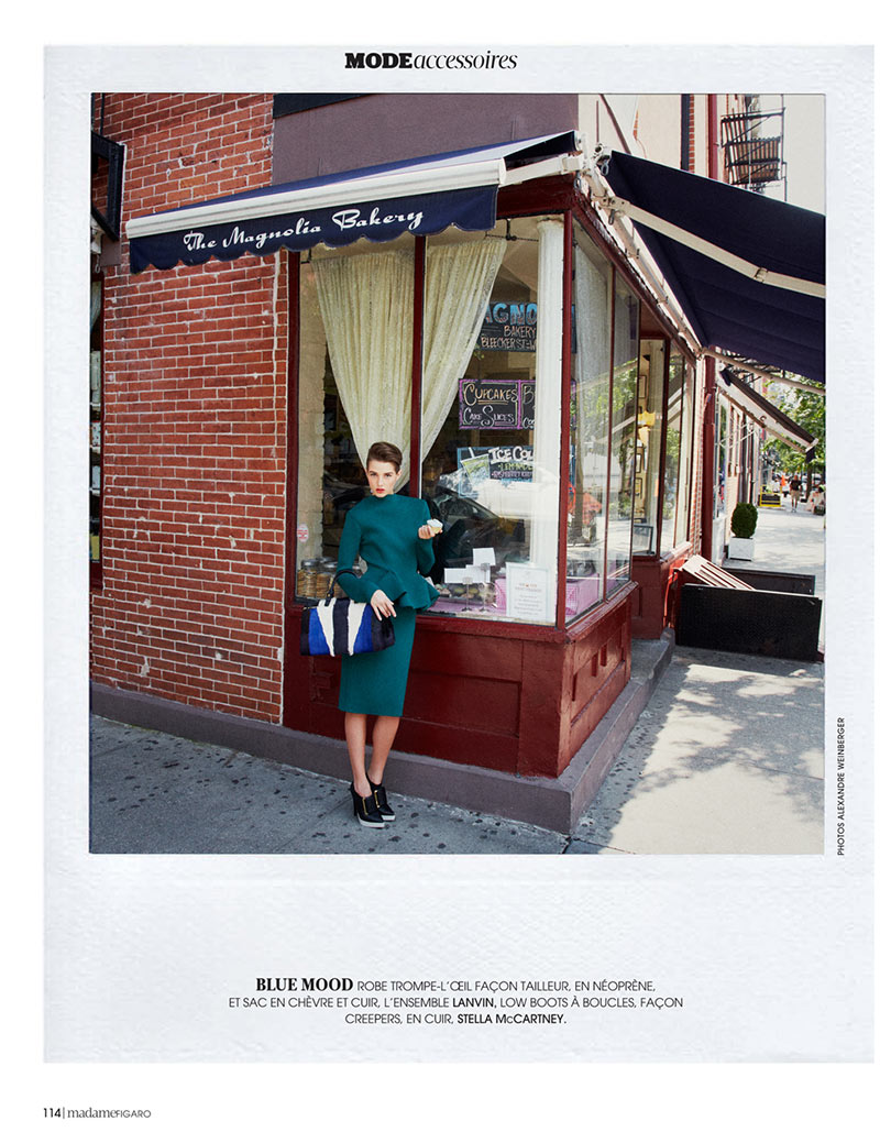 AlexandreNY9 Alexandre Weinberger Captures a New York Story for Madame Figaro November 2012