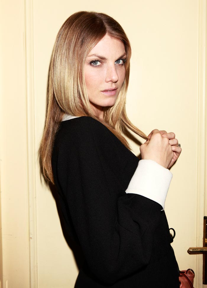 AngelaDays1 Angela Lindvall Dons 7 Looks in 7 Days for Vogue.es Feature by Ruben Vega