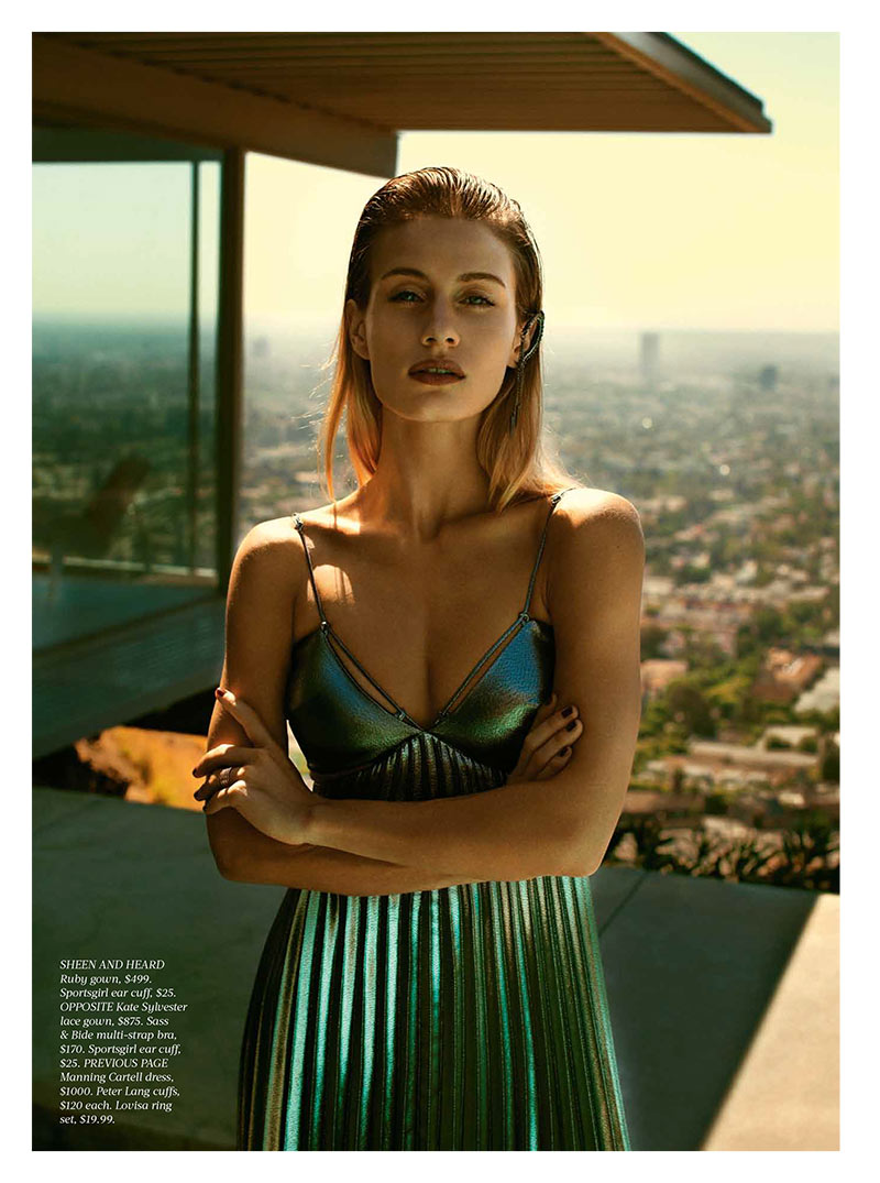 CheeLA2 Natalia ONous Poses for Steven Chee in Fashion Quarterly NZ