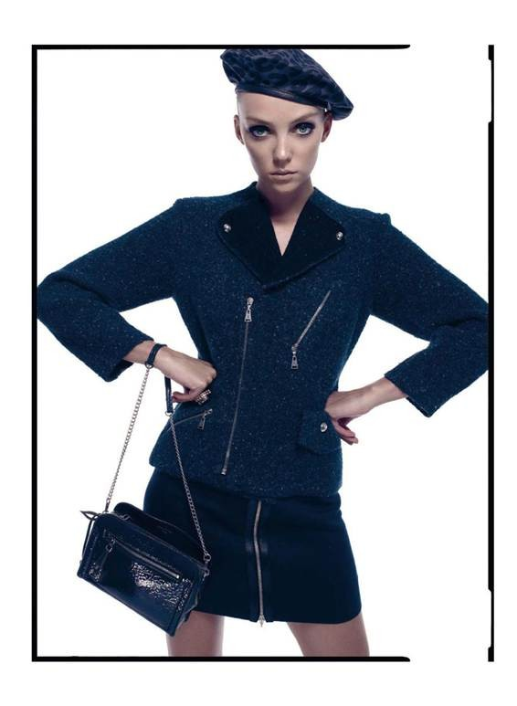 Heather Marks Gets Chic for the Harper's Bazaar Spain December 2012 Cover Story