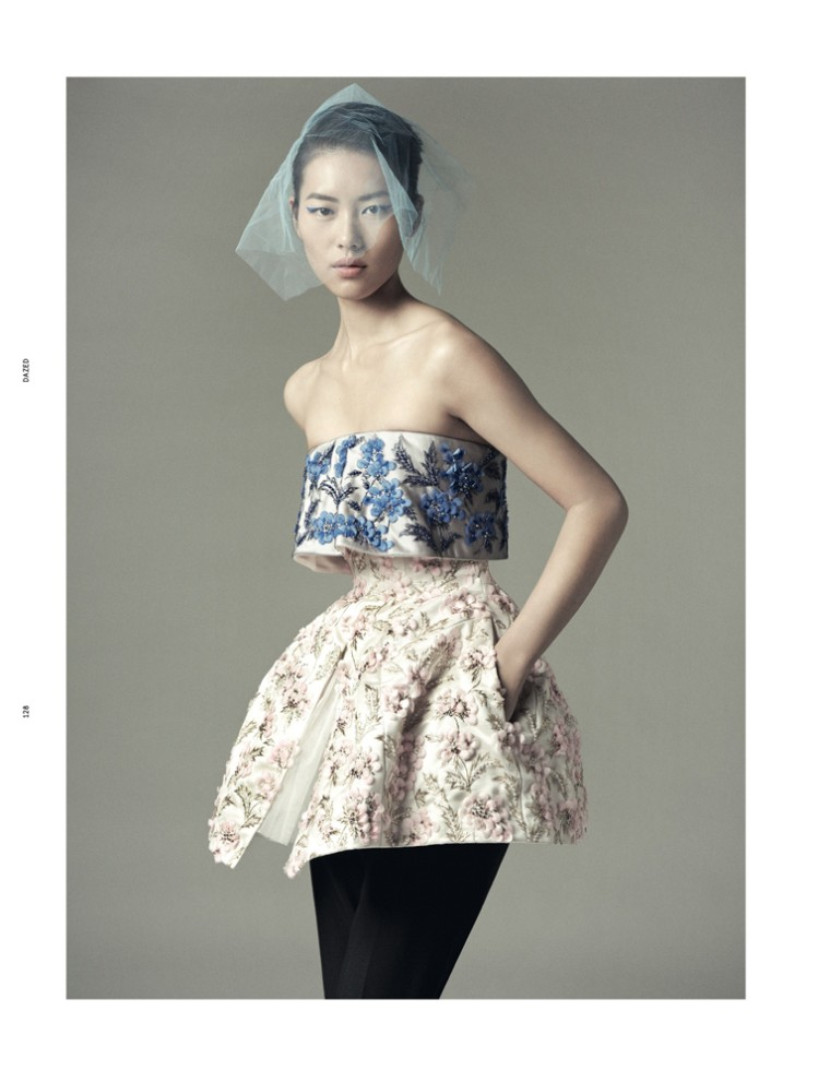 LiuDazed3 Liu Wen Goes from Day to Couture for Dazed & Confuseds December Issue