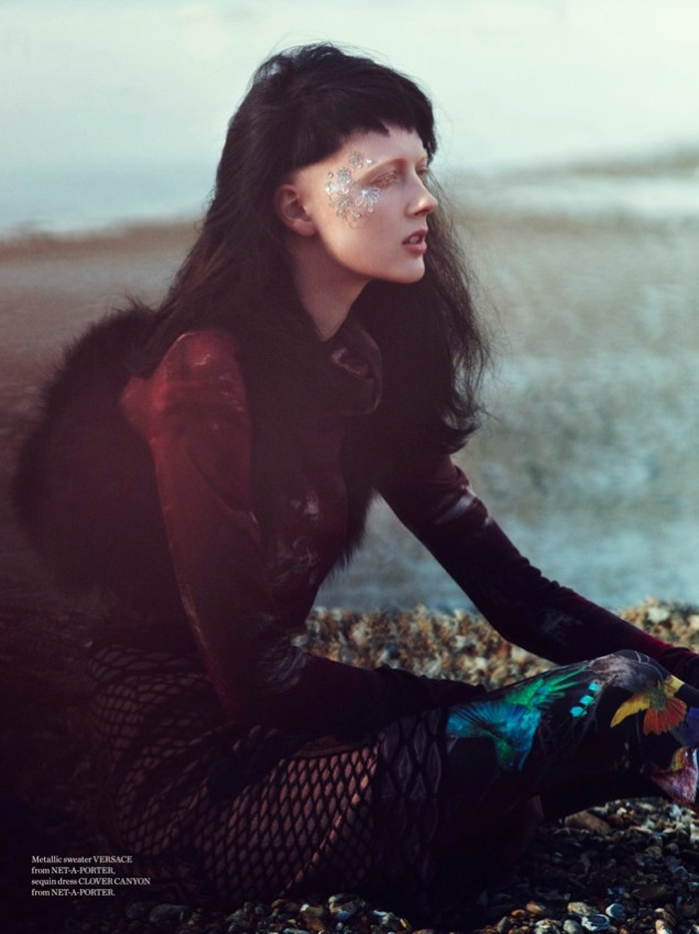 MetalEmma4 Emma Tempest Lenses Sadie Pinn in Free Spirited Style for Metal Magazine #28