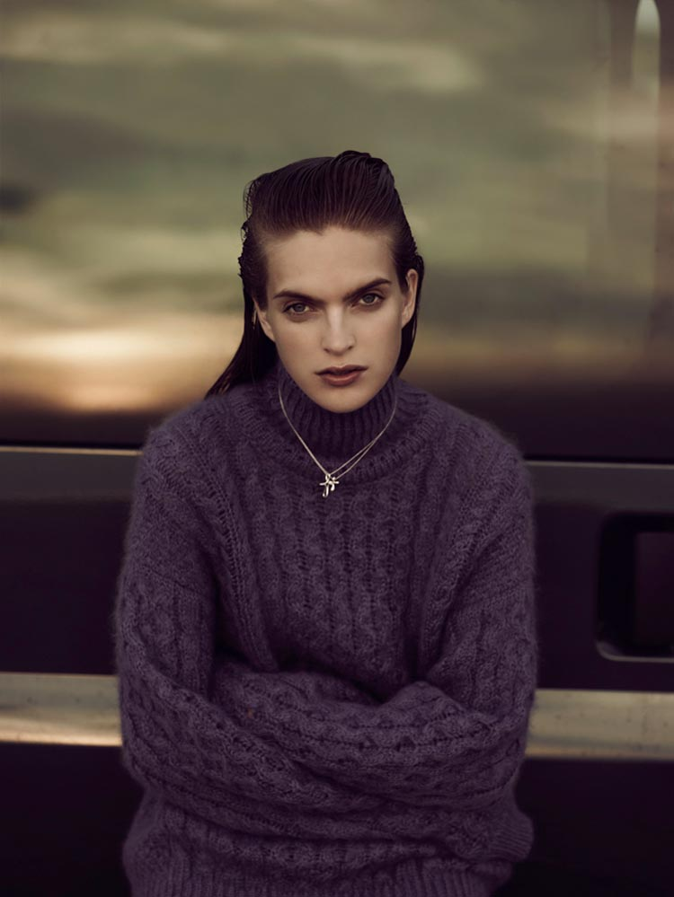 MirteVogue8 Mirte Maas Takes it Easy in Annemarieke van Drimmelens Vogue Netherlands Shoot