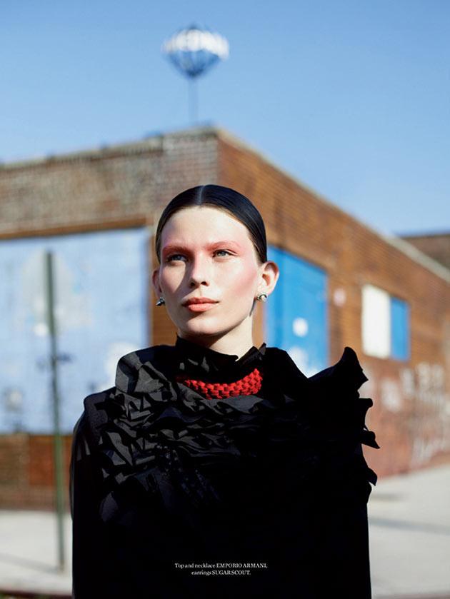 MonikaMetal7 Monika Sawicka Dons Eccentric Style for Metal Magazine #28 by Marton Perlaki