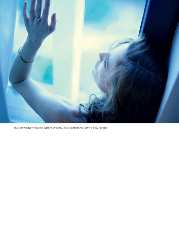Natasa Vojnovic is Belle de Jour for Elle Serbia's December 2012 Cover Shoot