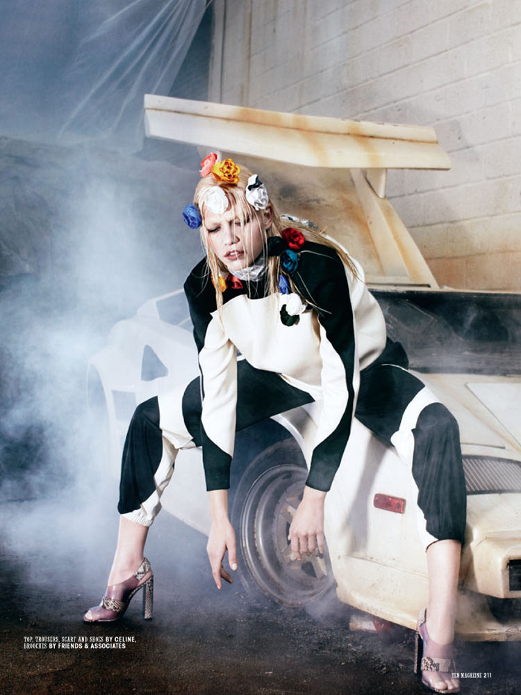 aline ten10 Aline Weber is Car Crazy for 10 Magazine by Christian Anwander