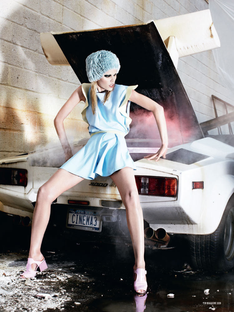 aline ten2 Aline Weber is Car Crazy for 10 Magazine by Christian Anwander