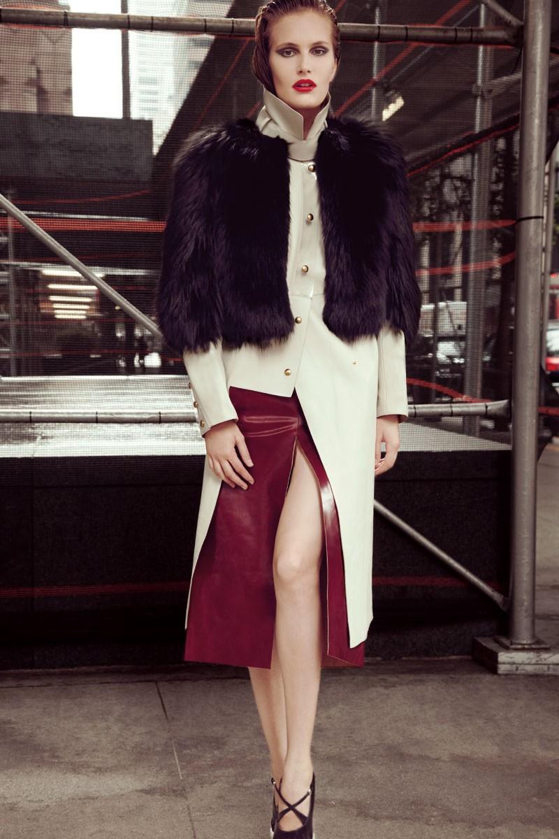 Alla Kostromicheva is a City Dweller for Numéro Tokyo December, Lensed by Carlotta Manaigo