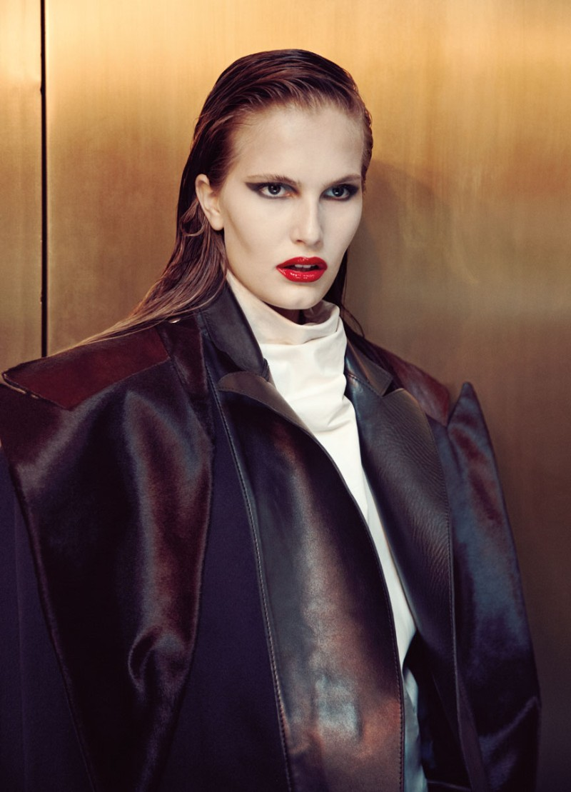 alla8 Alla Kostromicheva is a City Dweller for Numéro Tokyo December, Lensed by Carlotta Manaigo