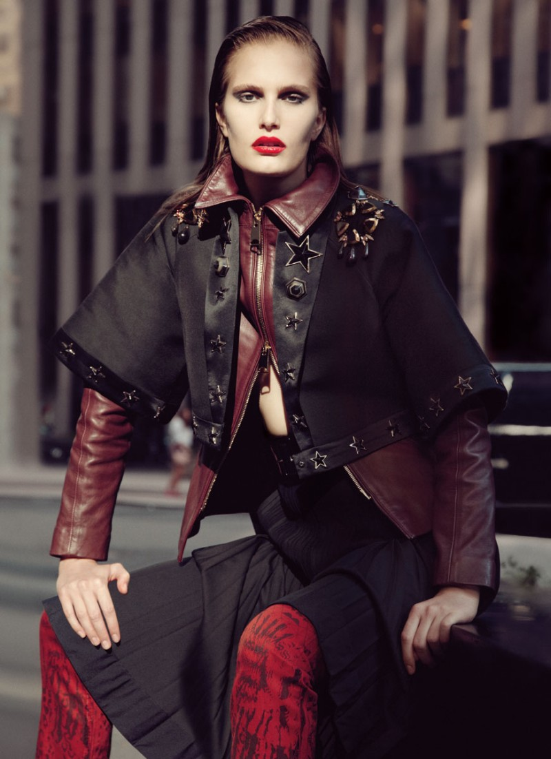 alla9 Alla Kostromicheva is a City Dweller for Numéro Tokyo December, Lensed by Carlotta Manaigo