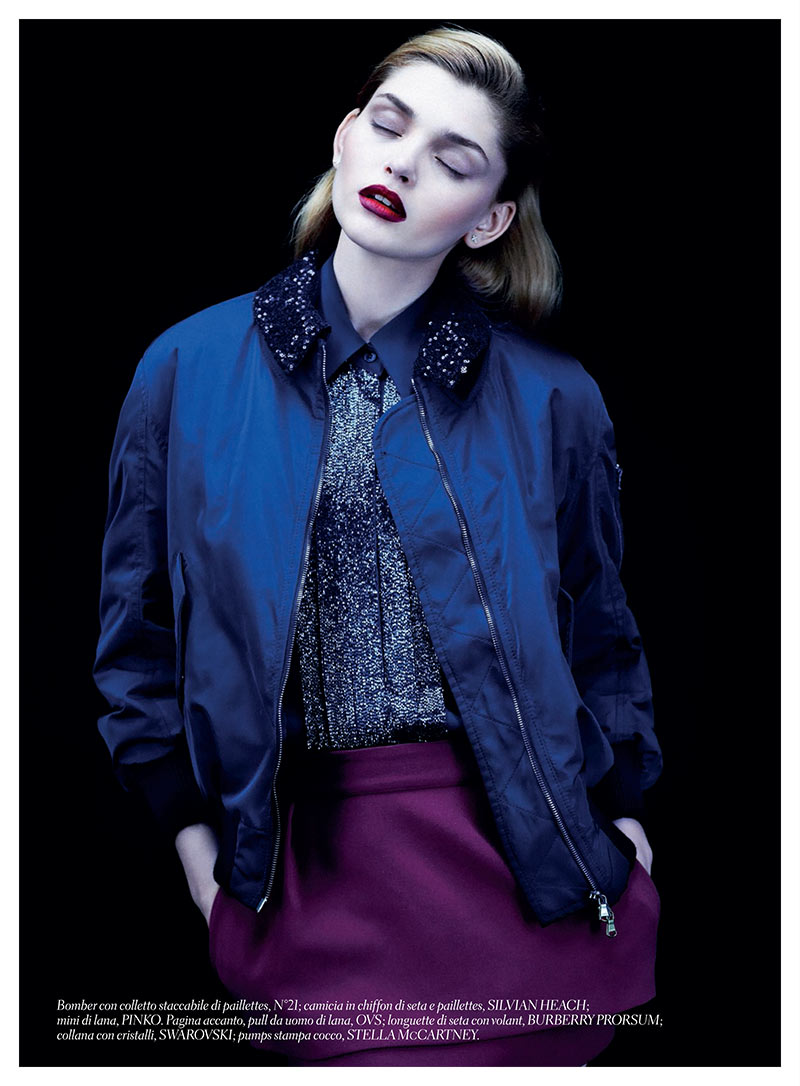 alvaro gioia4 Valeriia Karaman Has the Blues for Gioia Magazine by Alvaro Beamud Cortes