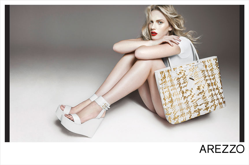 anne v1 Anne Vyalitsyna Rocks Shoe Styles for Arezzos Summer 2013 Campaign by Gui Paganini