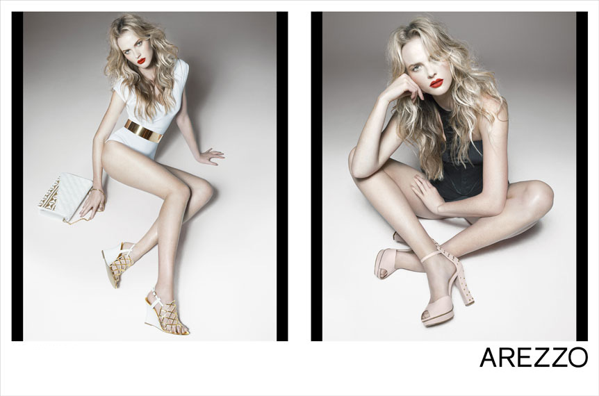 anne v2 Anne Vyalitsyna Rocks Shoe Styles for Arezzos Summer 2013 Campaign by Gui Paganini