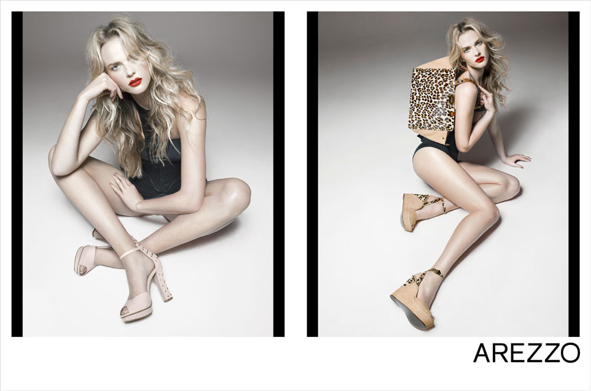 anne v3 Anne Vyalitsyna Rocks Shoe Styles for Arezzos Summer 2013 Campaign by Gui Paganini