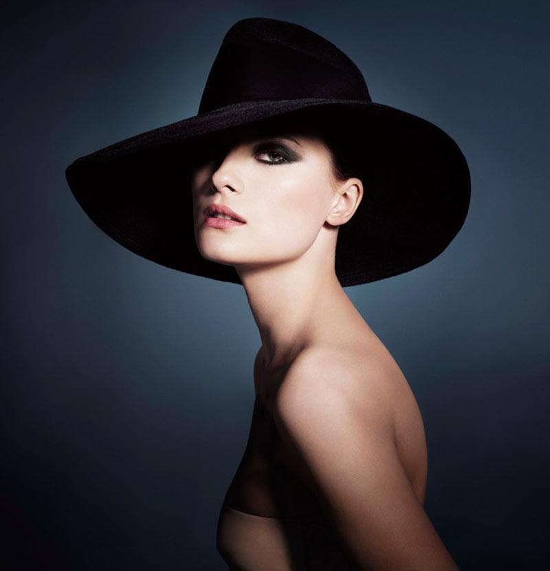 armani beauty6 Patricia van der Vliet and Elena Melnik Star in Giorgio Armani Beautys F/W 2012 Campaign