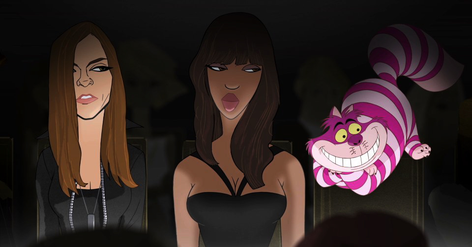 "Disney x Barneys ""Electric Holiday"" Film Featuring Fashion Stars"