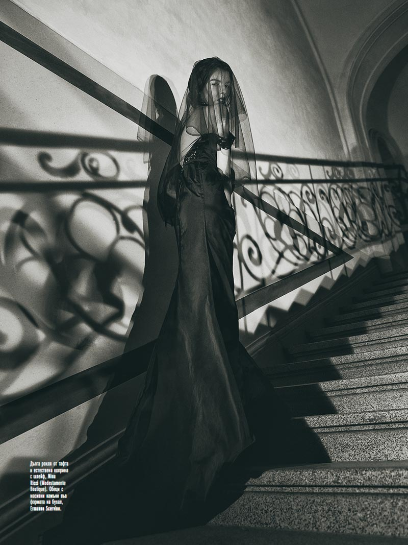 black1 Georgi Andinov Captures Black Magic for Amica Bulgaria November 2012