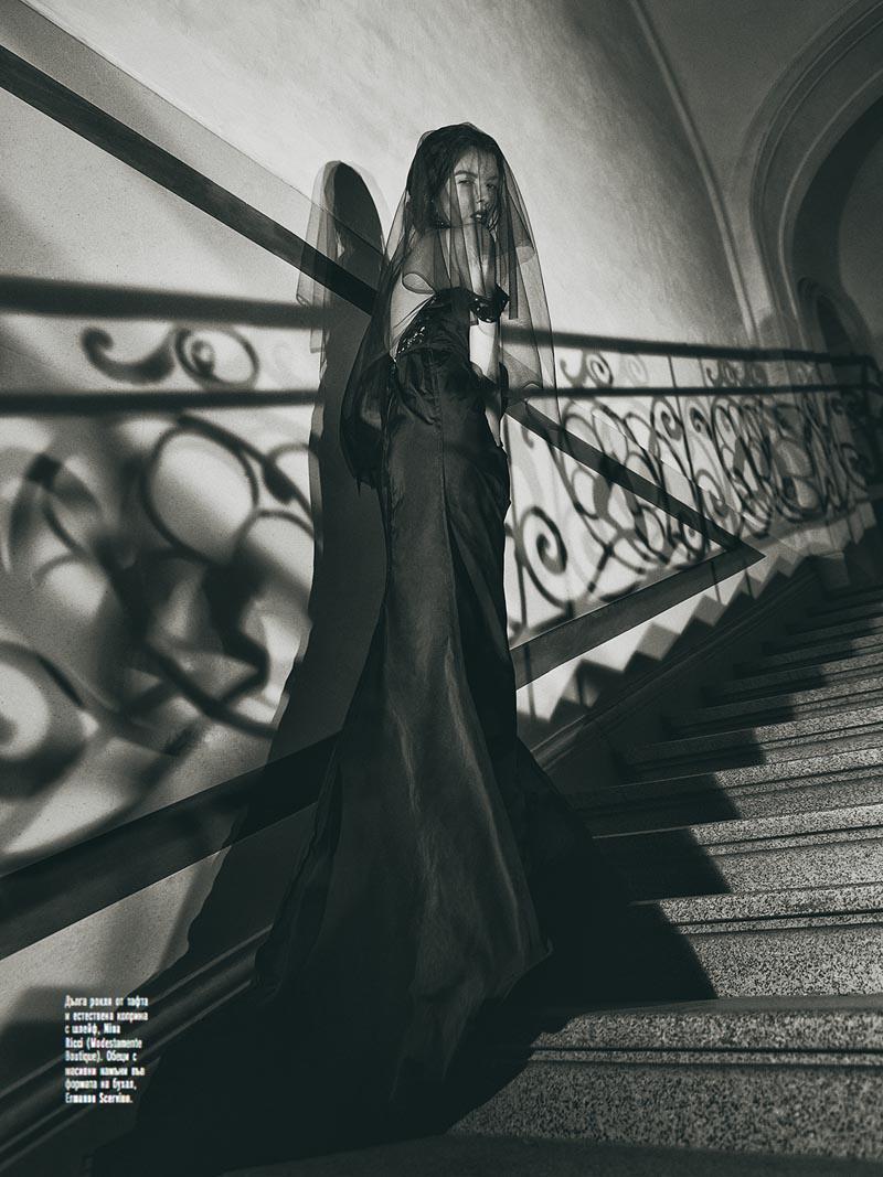 "Georgi Andinov Captures ""Black Magic"" for Amica Bulgaria November 2012"