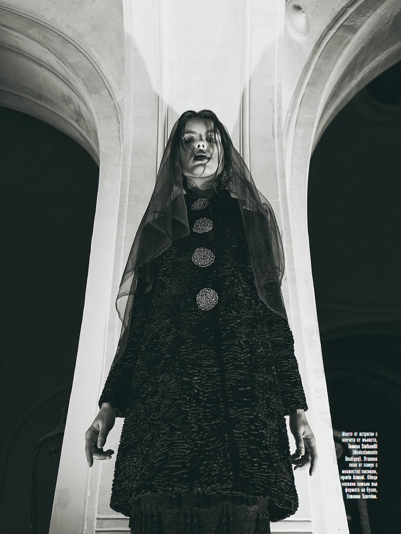 black3 Georgi Andinov Captures Black Magic for Amica Bulgaria November 2012