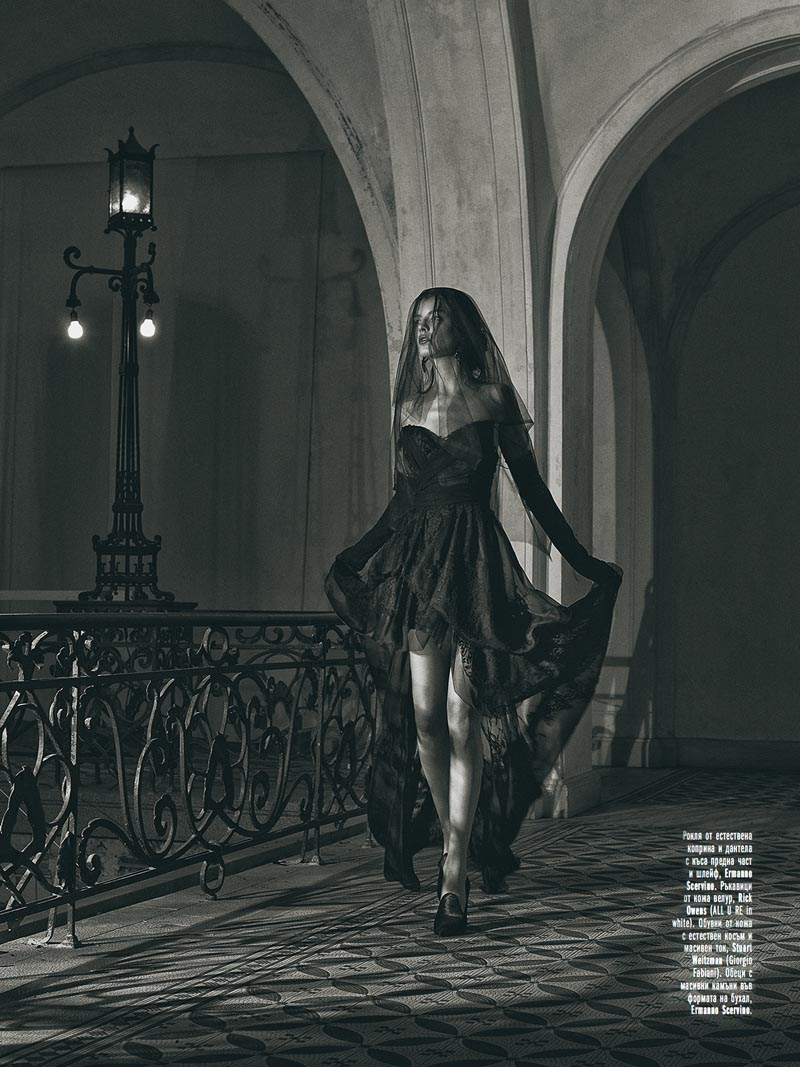 black4 Georgi Andinov Captures Black Magic for Amica Bulgaria November 2012