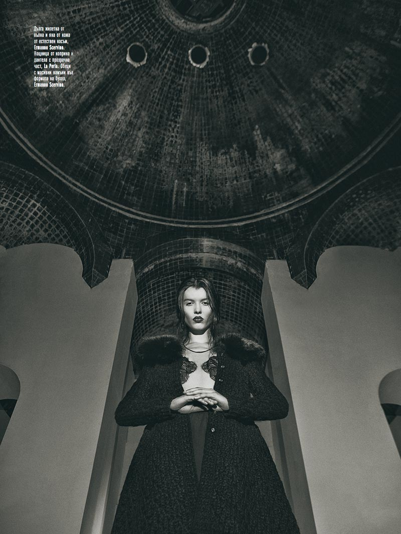 black5 Georgi Andinov Captures Black Magic for Amica Bulgaria November 2012