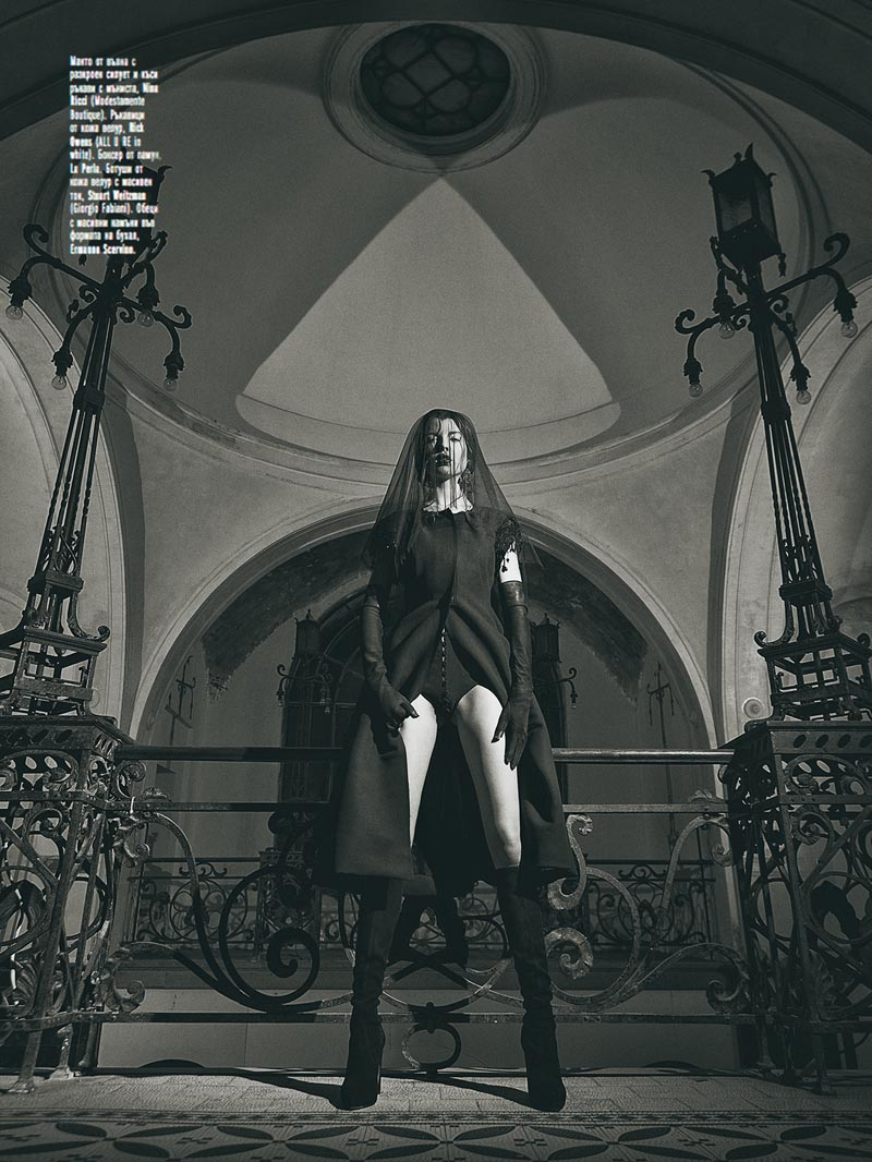 black6 Georgi Andinov Captures Black Magic for Amica Bulgaria November 2012