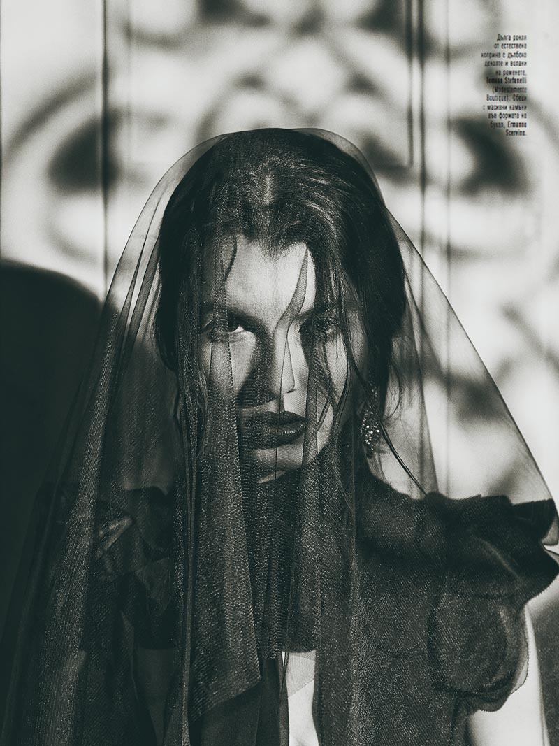 black8 Georgi Andinov Captures Black Magic for Amica Bulgaria November 2012