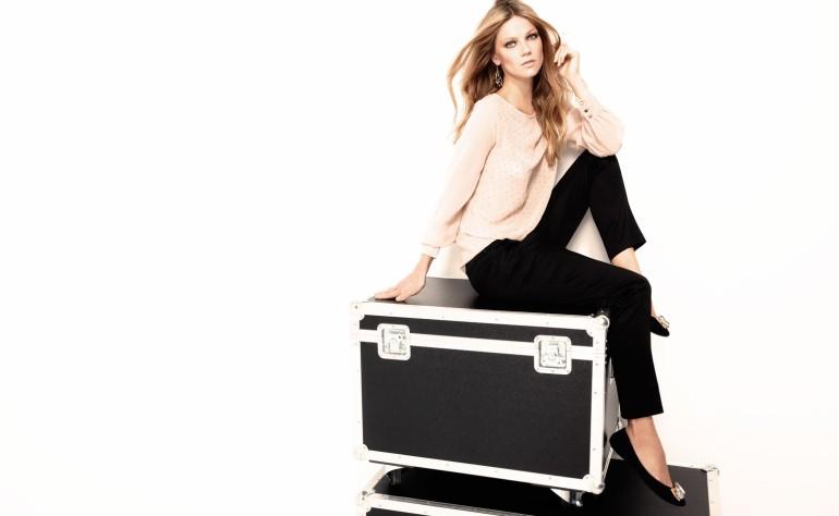 Masha Novoselova Shines in SuiteBlanco's Night 2012 Campaign