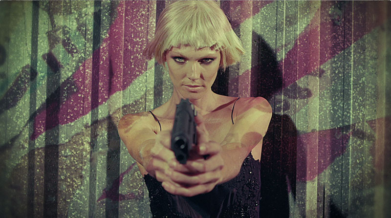 bond3 Shirley Mallmann Stars as a Bond Girl for Elle Brazils Action Packed Film