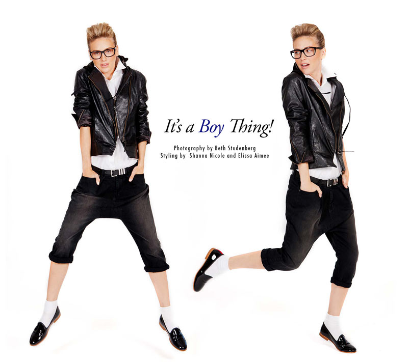 boy Ashley Perich by Beth Studenberg in Its a Boy Thing for Fashion Gone Rogue